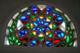 Traditional Yemeni houses contain beautiful stained glass windows