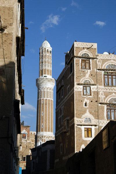 Mosque just east of Arabia Felix Hotel, Sanaa