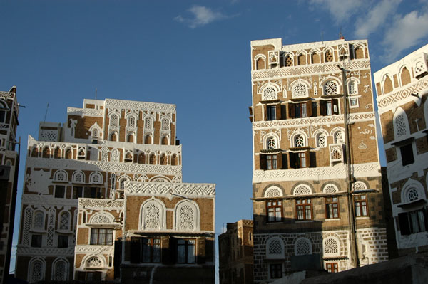 Old Sanaa is an absolute gem, full of ornate traditional architecture