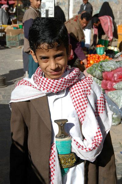 Most Yemenis carry a Jambiya
