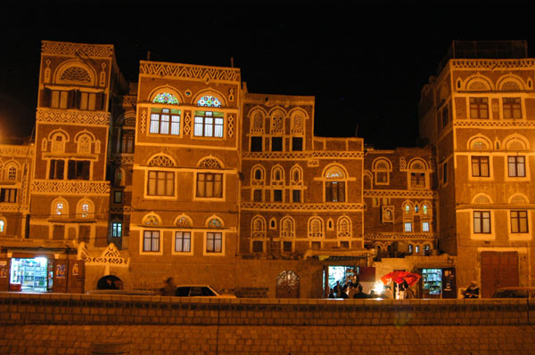 Saila at night, Old Town Sanaa
