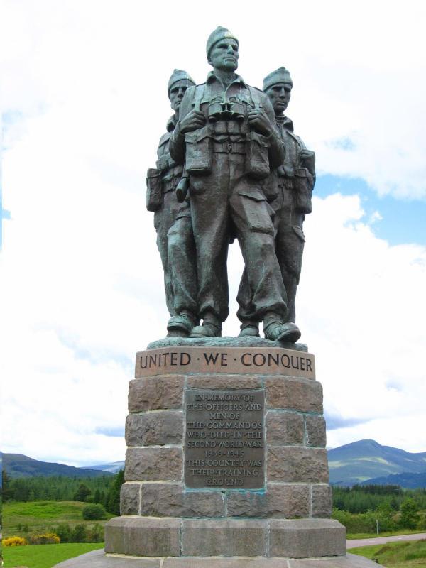 Commando Monument Spean Bridge