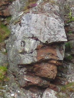 Face in the Rock Face