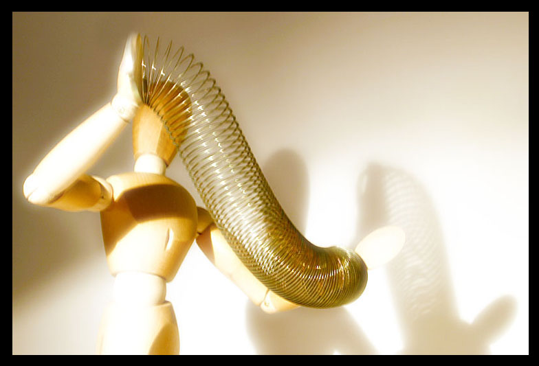 February 22, 2005<br>Slinky Man
