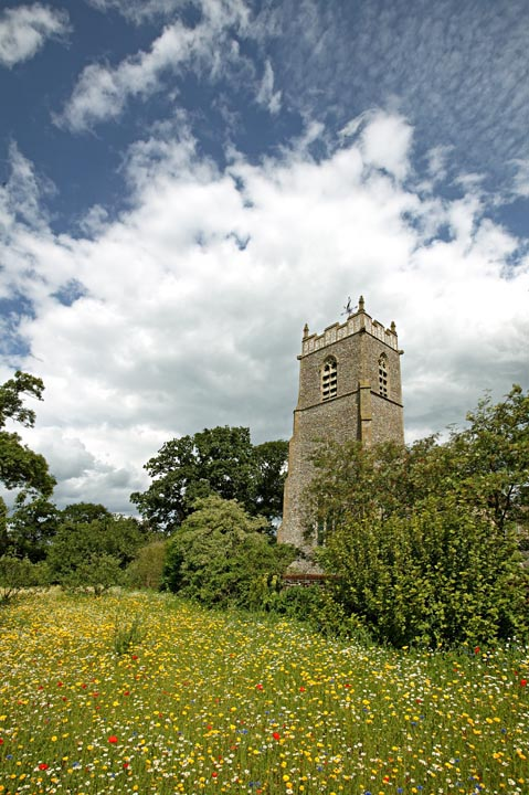 Our Village Church In Spring