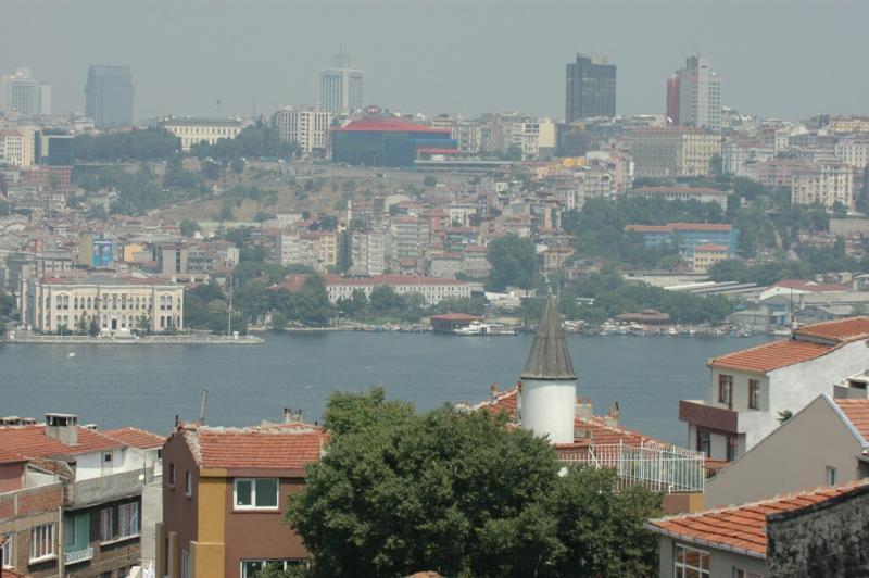 Istanbul views across Golden Horn
