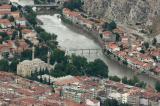 Amasya city from high