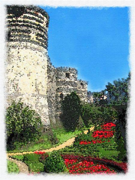 Fortifications of  Castle DAnger