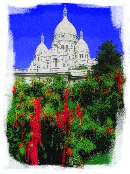 Basilica Sacre-Coeur In Paris