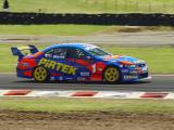 Marcos Ambrose in his Pirtek Ford Falcon BA