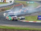 John Bowe Craig Lowndes and Russell Ingall Turn 2.JPG