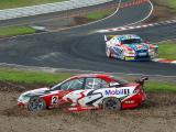 Russell Ingall passes Mark Skaife by