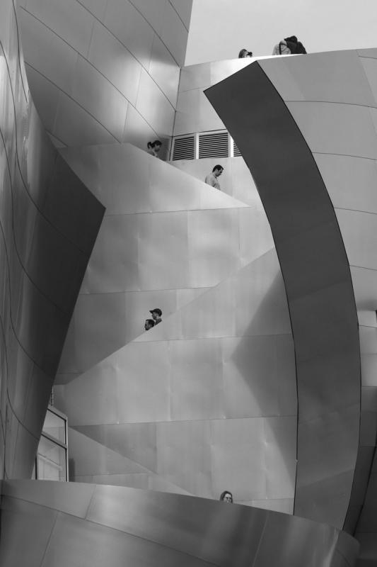 disney center stairways