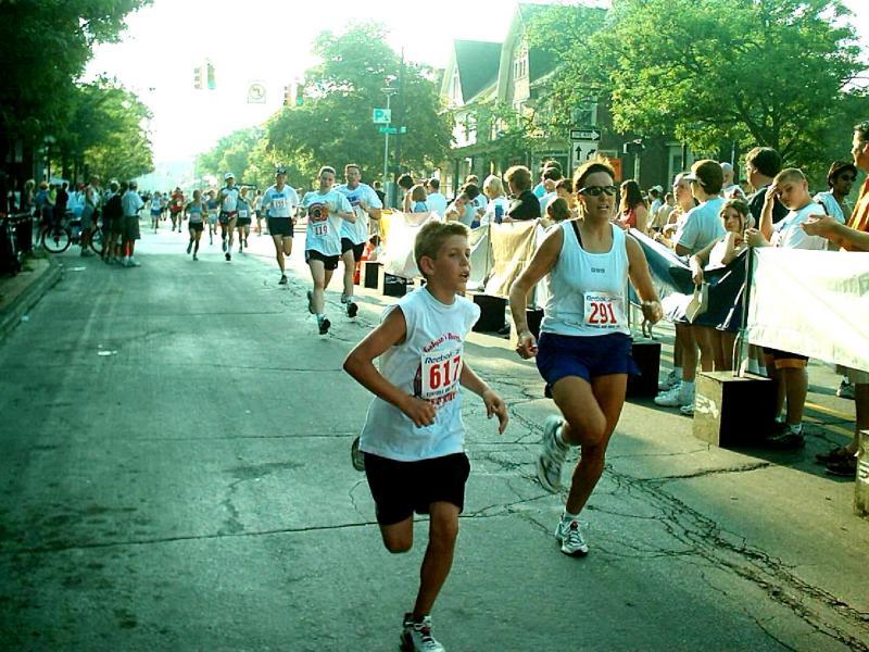 Tortoise & Hare 5K - Ann Arbor, MI - July 4, 2003