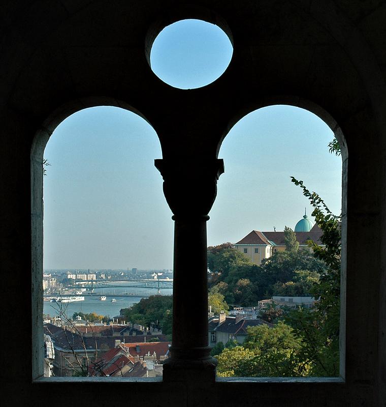 The Danube from Buda