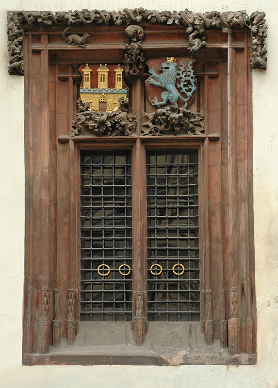Window with seals