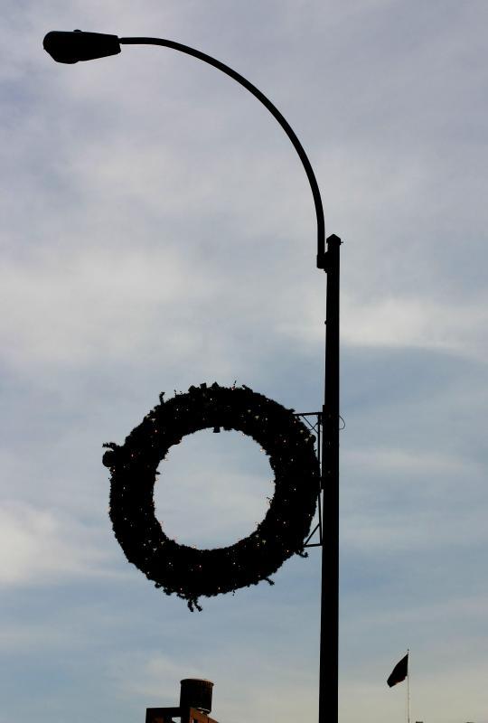 Astor Place Wreath