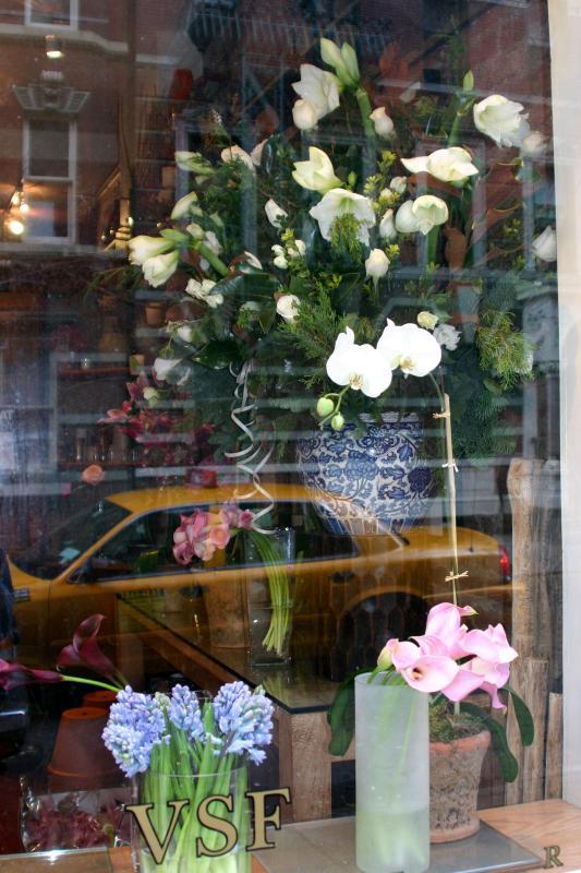 VSF Floral Shop on W 10th Street near Bleecker