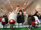 Sheep  - moss furnishings
