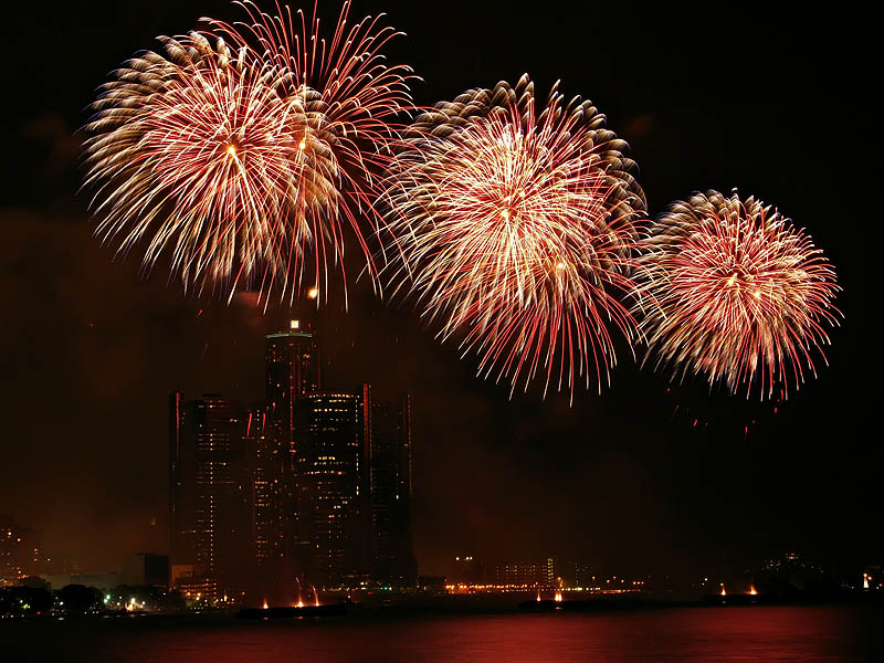 Freedom Festival Fireworks 22:23:30 hrs