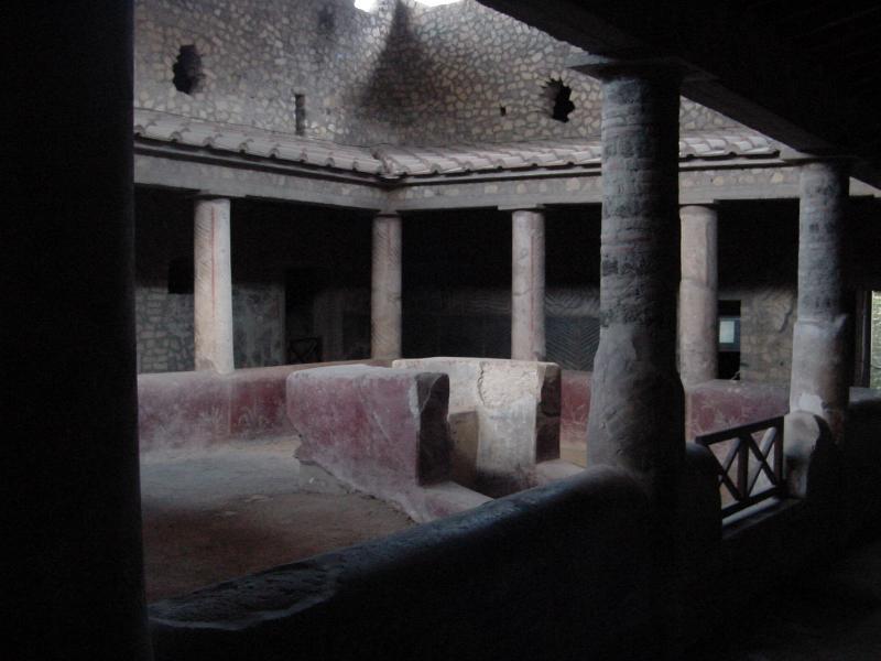 Portico in Oplontis