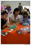 Mio, Mommy and Rafael at work