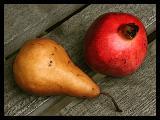 Pear & Pomegranate