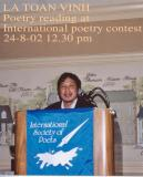 POETRY READING  AT HILTON CONVENTION CENTER WASHINGTON DC ,USA