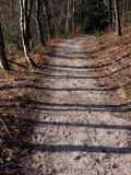 Chemin et arène granitique