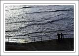 Wave watching, Sidmouth
