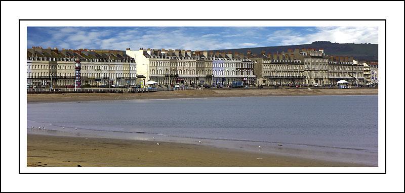 Seafront panorama, Weymouth, Dorset