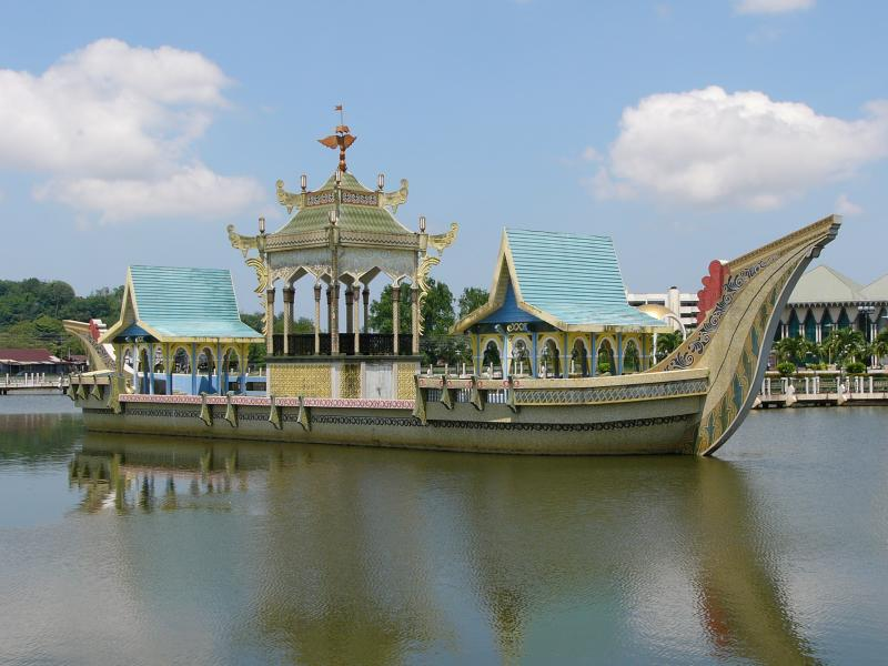 Ceremonial stone boat