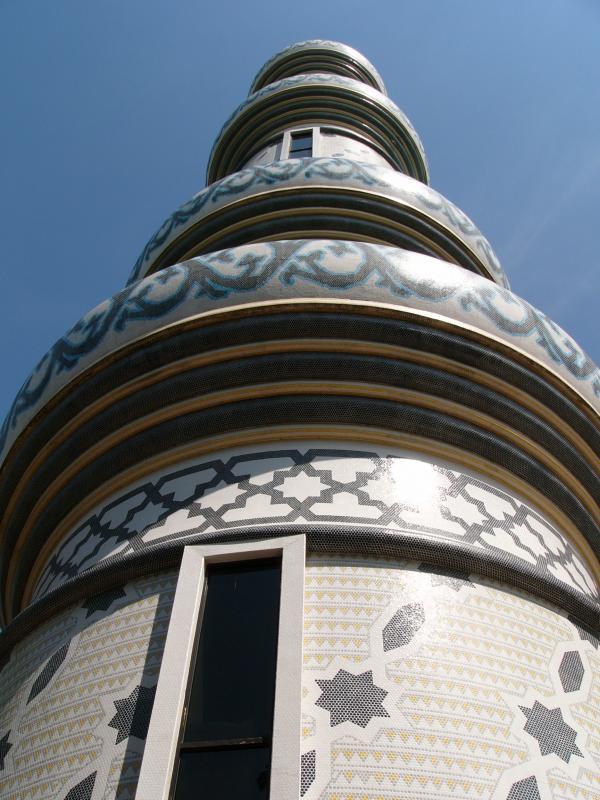 Very tall minaret