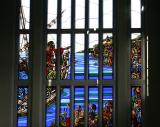 Window Over Cathedral Entrance
