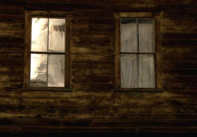 Face in the Window, Bodie, California, 2004