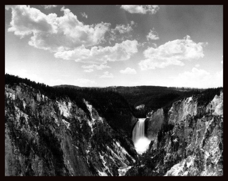 lower yellowstone falls