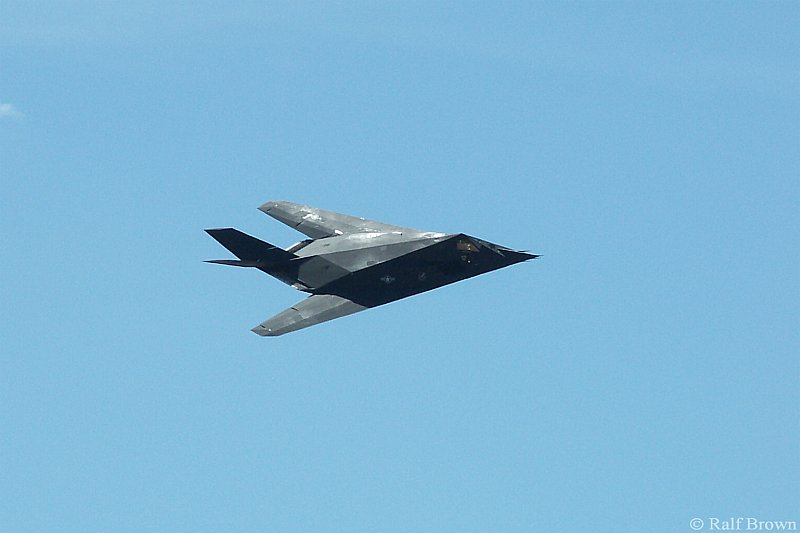 F-117 Stealth Flyby