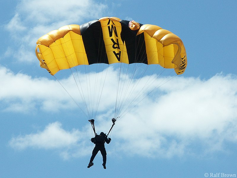 Golden Knights Jump Team Parachutist
