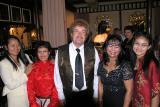 Eddi Hviid with family,Hviid´s Vinstue Vejle DK
