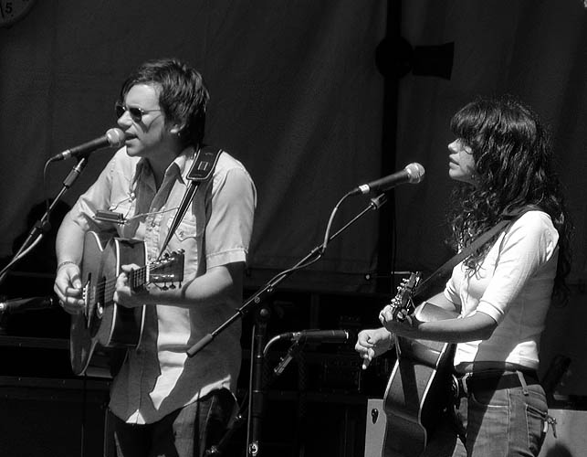 Sarah Lee Guthrie and Johnny Irion play
