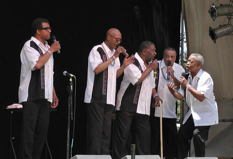 The Persuasions sing