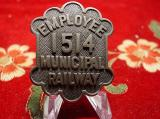 employee can ride for free with this badge