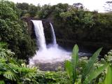 Rainbow Falls, Hilo,  in full force
