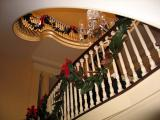 LV_Spiral staircase and skylight at holiday season