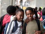 Kids in Ashkelon
