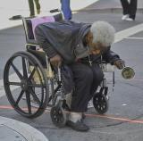 Union Square Homeless Man