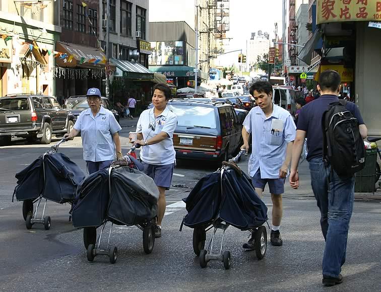Mailmen in Chinatown