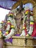 Parthasarathi with ubhaya nachchimars Peyazhwar Sattumurai-Evening