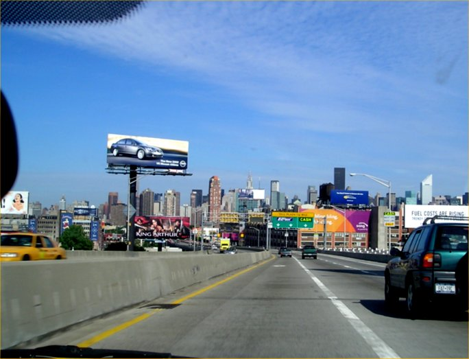 Arriving at the Queens Midtown Tunnel