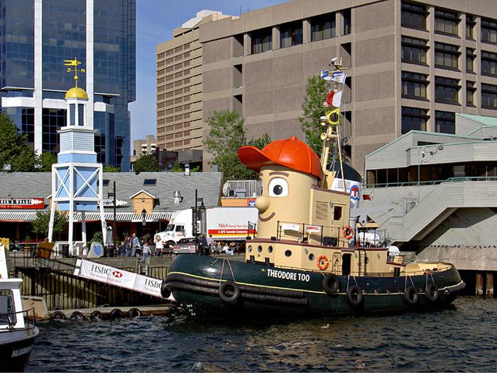 Halifax Boardwalk.